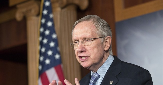 Harry Reid Says He Leaves the Rtiz Carlton to Grocery Shop