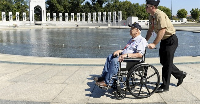 Veterans at the Memorial: Showing Us What it Means to be American
