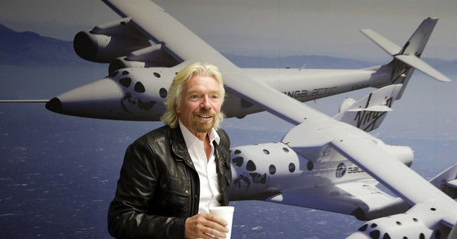 Green Hypocrisy: CEO of Virgin Airlines Says Global Warming Skeptics Should 'Get Out of Our Way'