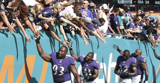 Our Tax Dollars Are Paying the NFL Ravens to Promote Obamacare