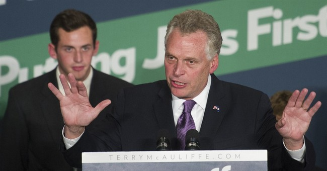 Ouch: Slate Says Terry McAuliffe is Beginning a 'Reign of Sleaze'