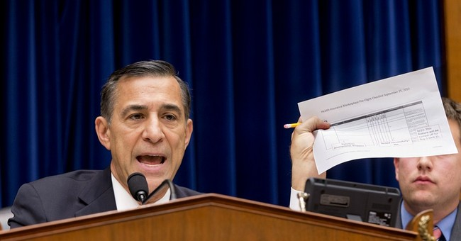 "Rep. Darrell Issa Warns Obamacare Navigators Are ""ACORN Revisited"""