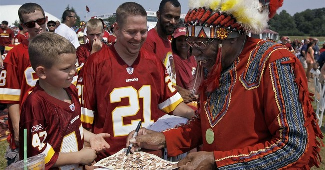"Federal Agency: The Term ""Redskins"" is a ""Derogatory Slang"""