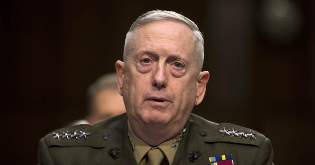 General Mattis: Count Me Out For 2016