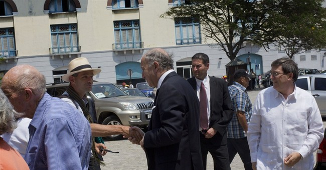 French minister in Cuba as Europe seeks opening
