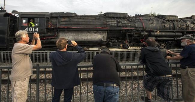 Huge Big Boy steam locomotive coming back to life