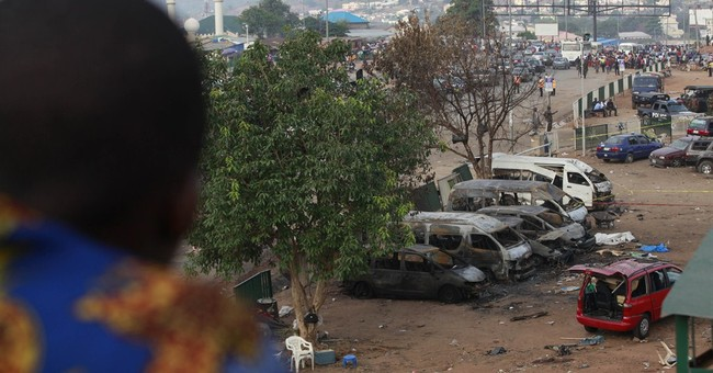 Minister: 75 dead in blast at Nigerian bus station