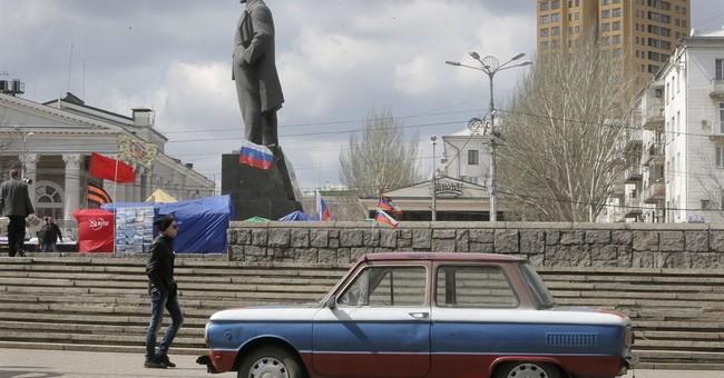 Oil falls to near $103 ahead of Ukraine meeting