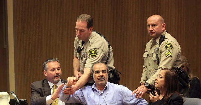 Court chaos: Iraqi man convicted in wife's murder