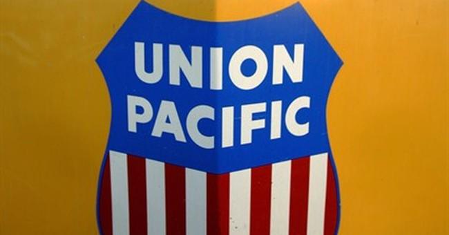 Union Pacific railroad's 1Q profit up 14 percent