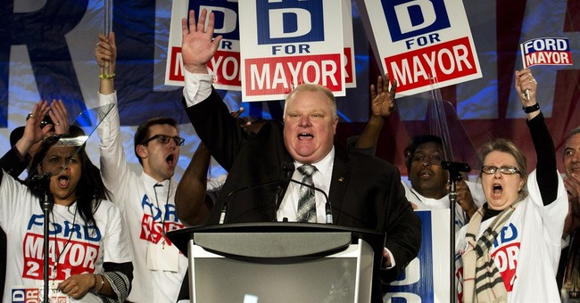 "Rob Ford acknowledges ""rocky moments"" at rally"