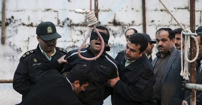 Iranian woman forgives son's killer at the gallows