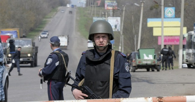 Oil tops $104 on Ukraine fears