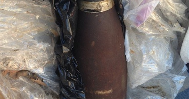 Military shell prompted evacuation of hundreds