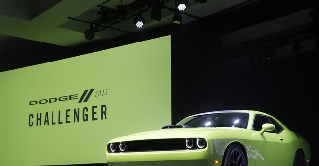 Muscle cars out in force at New York auto show