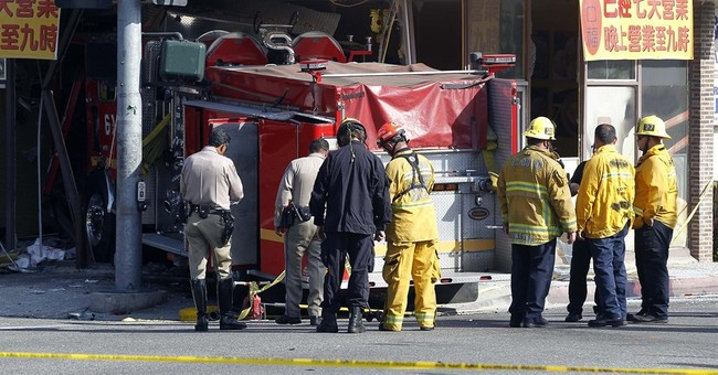 Condition upgraded for victim of firetruck crash