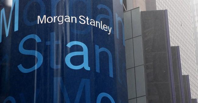 Morgan Stanley's income rose 18 percent