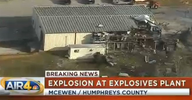 Federal team on way to Tenn. plant explosion site