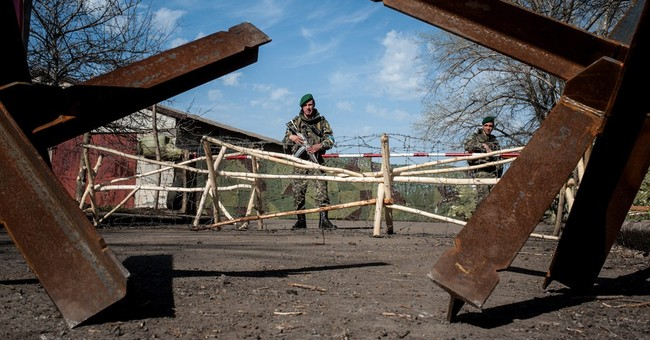 Diplomacy doesn't move insurgents in Ukraine