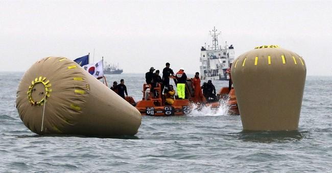 Captain of sunken S. Korean ferry, 2 crew arrested
