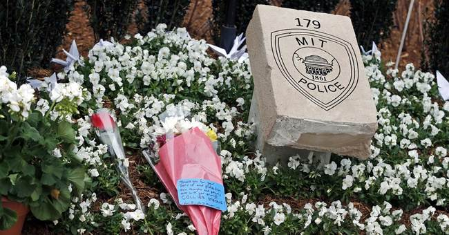 MIT honors officer slain after bombs went off