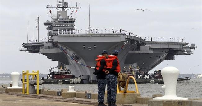 AP PHOTOS: Sailors return from 9-month deployment