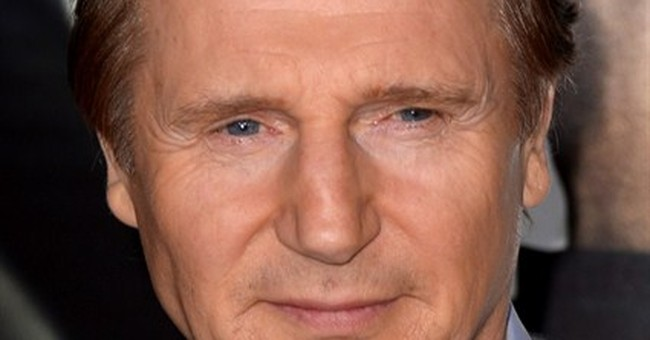 Carriage horse foes picket Liam Neeson's NYC home