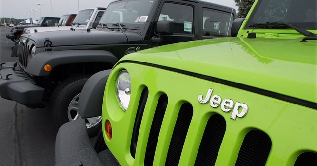 Fiat and Chrysler to build 3 Jeep models in China