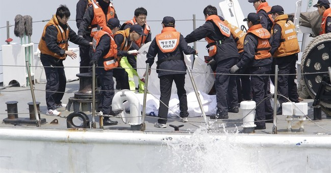Transcript of SKorea ship sinking: 'We can't move'