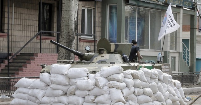 Ukraine, Russia trade blame for shootout in east