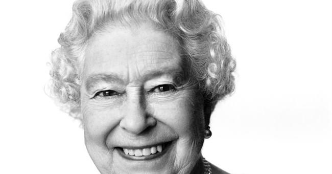 New portrait unveiled for British queen's birthday