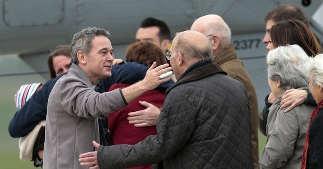 4 French journalists home after long Syrian ordeal