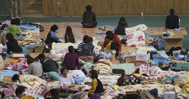 Transcript of SKorea ship sinking: 'We can't move'
