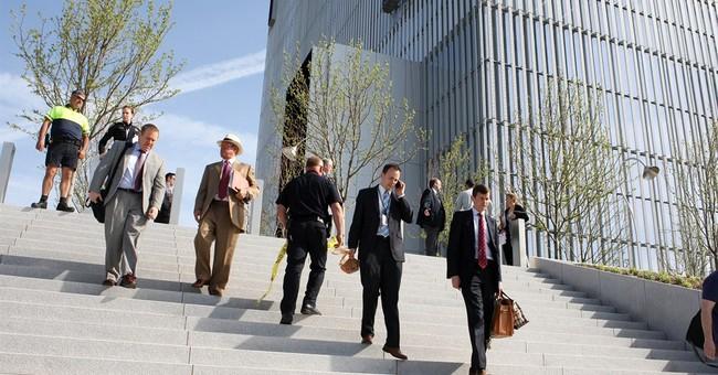 Courthouse violence unpredictable despite security