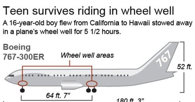 Teen stowaway shows holes in vast airport security