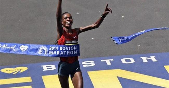 Kenya's Rita Jeptoo wins Boston Marathon again