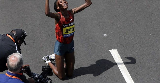Kenya's Rita Jeptoo wins Boston Marathon again