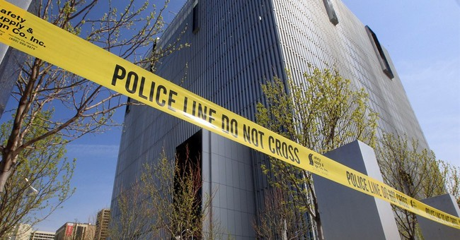 Man dies after being shot at federal courthouse