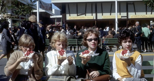 She sold Belgian waffles at the 1964 World's Fair