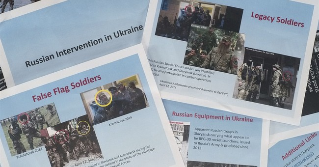 US: Pictures indicate Russian troops in Ukraine