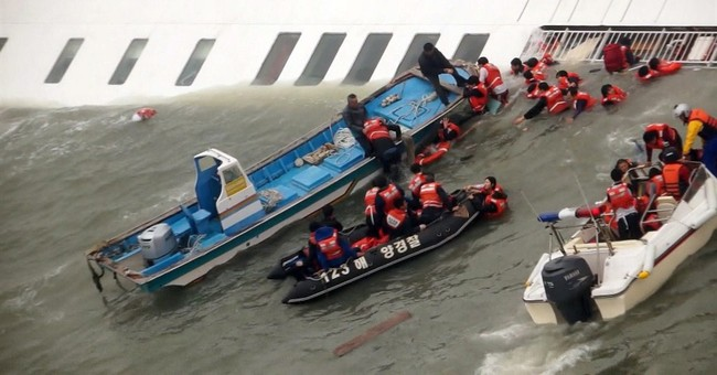 Acts of bravery emerge from pilloried ship crew