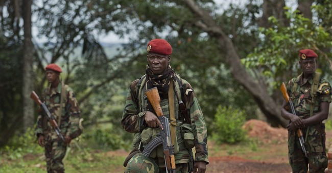 African troops capture junior LRA rebel commander