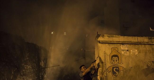 Violence erupts in Rio slum near Olympic venues
