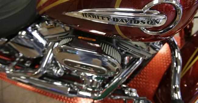 Harley-Davidson 1Q earnings roar ahead