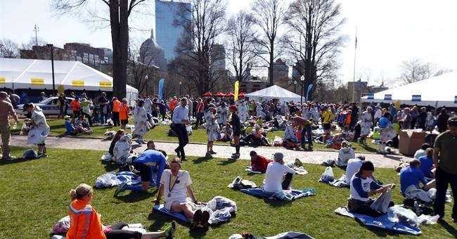 1 year after bombs, Boston Marathon a celebration