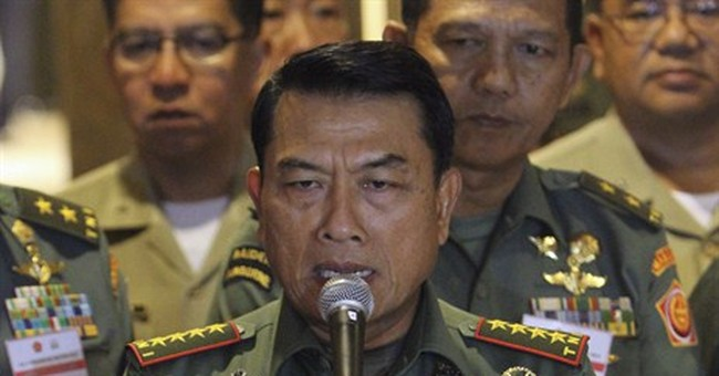 Indonesian general says his flashy watch is a fake