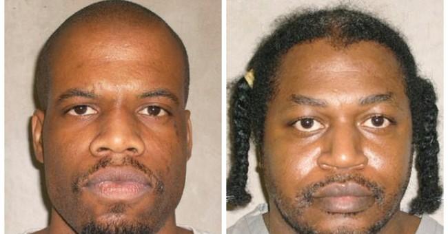 Oklahoma court won't delay 2 men's executions