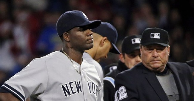Pineda tossed for pine tar; Red Sox beat Yanks 5-1