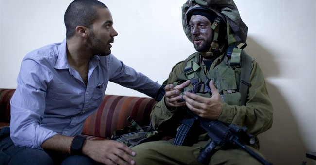 Some drama off-camera in Mideast conflict film