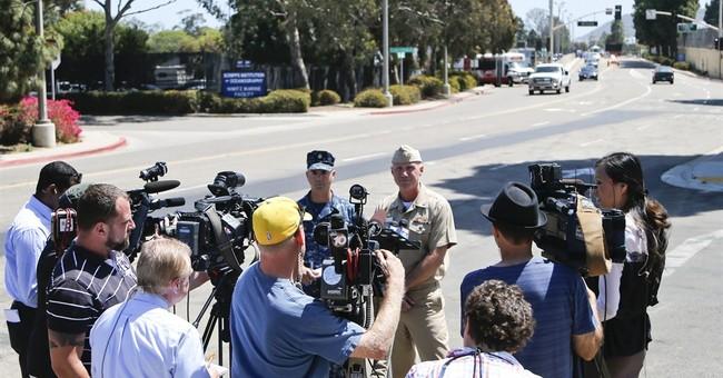 Pellet gun firing causes Navy base lockdown